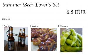 Beer lover's set